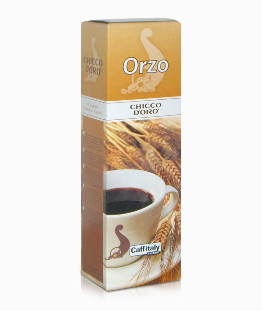 10 Capsule Chicco D'oro Orzo Chicco d'oro Caffitaly