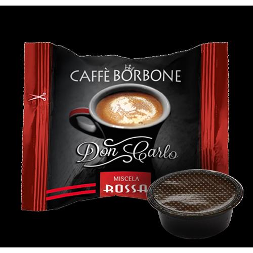 Capsule Caffè Borbone Miscela Rossa Compatibile Lavazza A Modo Mio