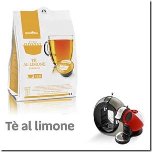 16 Capsule Gimoka Tè Limone Compatibile Dolce Gusto