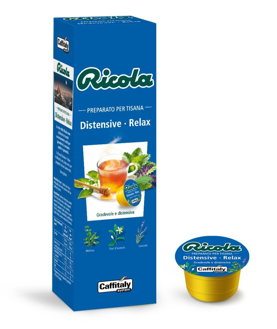 10 Capsule Tisana Distensive-Relax Ricola