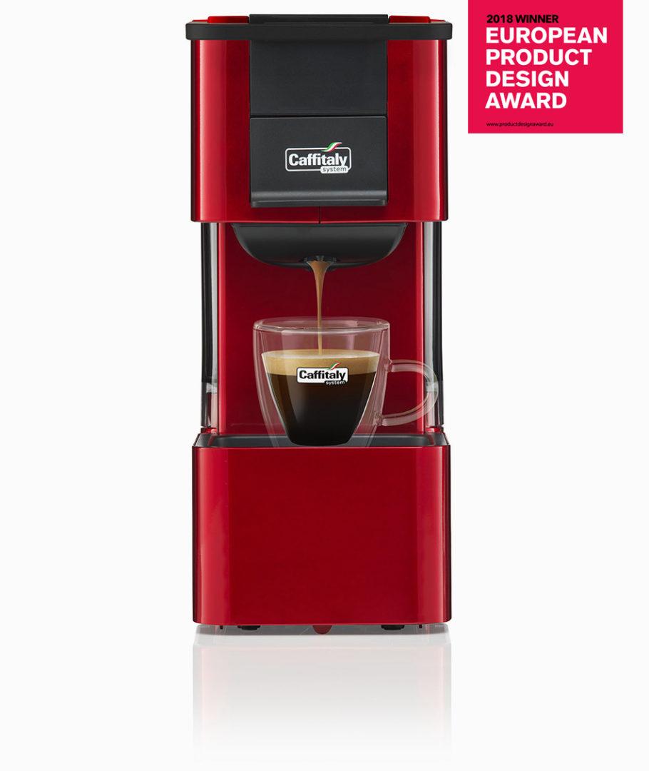 Macchina Per Il Caffè Rossa S27 Carbon