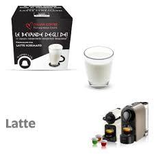 10 capsule latte solubile compatibile nespresso