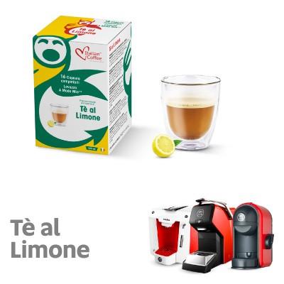 Tè Al Limone Italian Caffee Compatibili Lavazza A Modo Mio