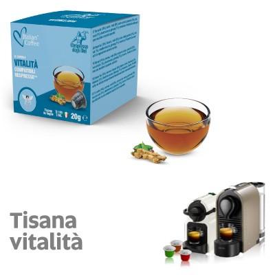 Capsule Tisana Vitalità Italian Coffee