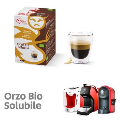 Orzo Bio Solubile 16 Capsule Italian Coffee Compatibili Lavazza A Modo Mio